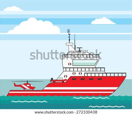 coast guard ship with