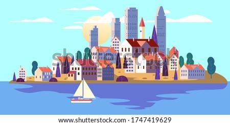 coastal exotic resort city
