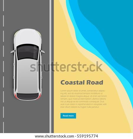 coastal road conceptual web