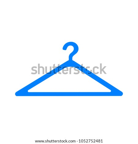 coat hanger sign icon