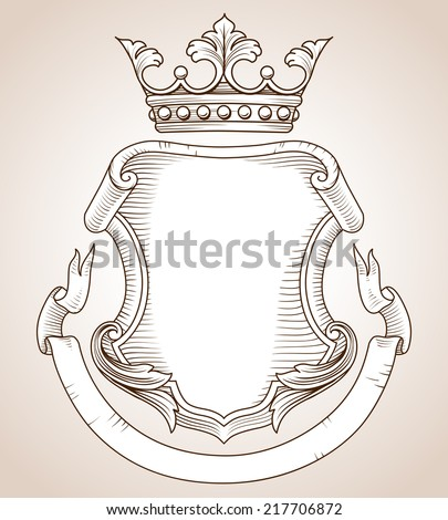 Space Coat Of Arms Coat of Arms Hand drawn