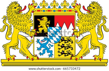 Gray Wolf Wolves In Heraldry Coat Of Arms Crest - Line Art - A Fox  Transparent PNG