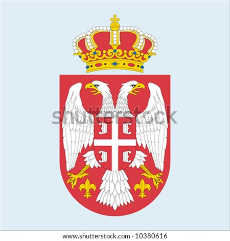 http://image.shutterstock.com/display_pic_with_logo/108499/108499,1205509022,5/stock-vector-coat-of-arms-of-serbia-10380616.jpg