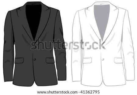 Coats. Vector
