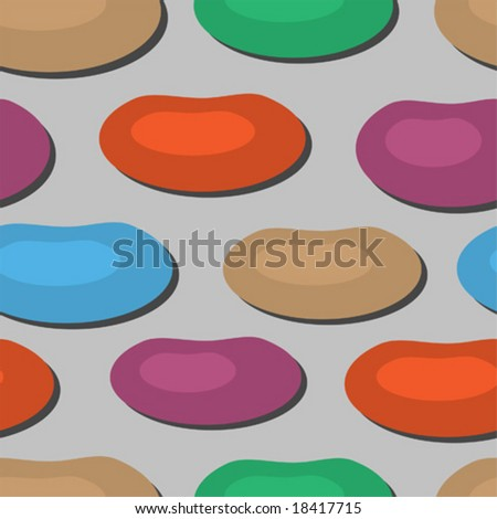 Cobblestone background seamless vector illustration