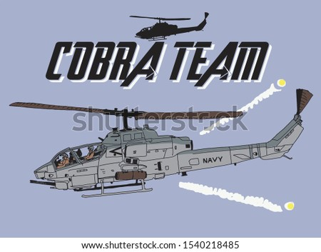 cobra helicopter attack team