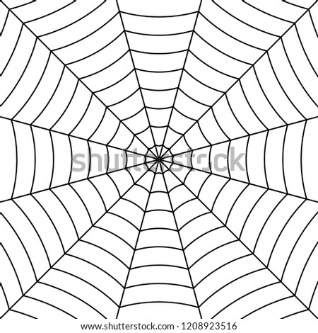cobweb background with black
