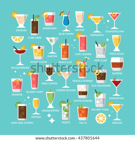 cocktail alcohol mixed drink