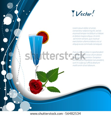 Cocktail background vector.JPG version in my gallery.