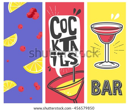 cocktail beach party vector