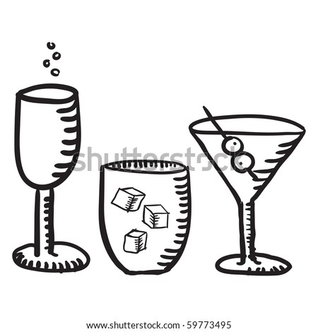 cocktail sketches
