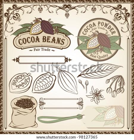 Cocoa Fair Trade Vintage Set