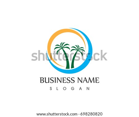 Coconut Tree Logo Design