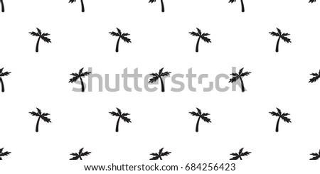 coconut tree palm icon seamless