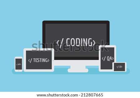 coding responsive software