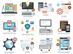 Coding with App Development, Coding, Data Protection, Layout and Adaptive Design