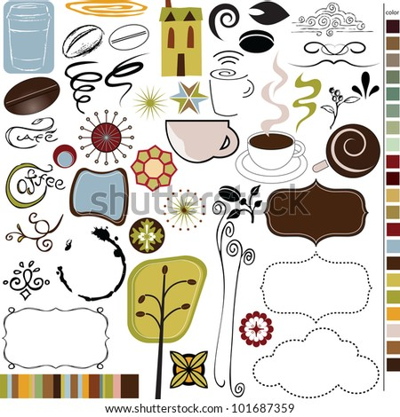 Coffee and Cafe icons