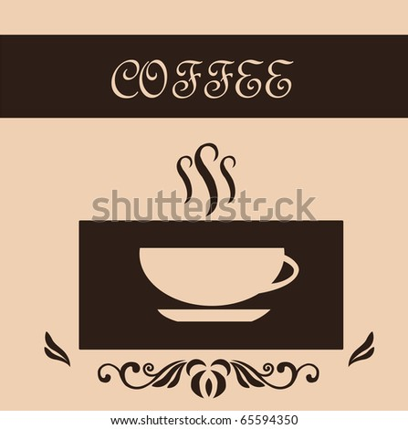 Coffee banner - stock vector