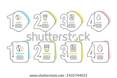 Hot And Cold Beverages Icons - Download Free Vectors