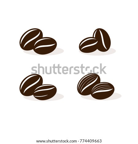 Coffee beans iluustration