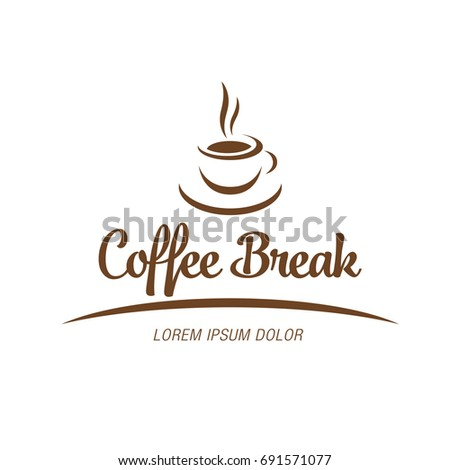 Coffee break logotype design