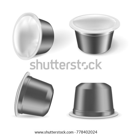 Coffee capsules for coffee machines.