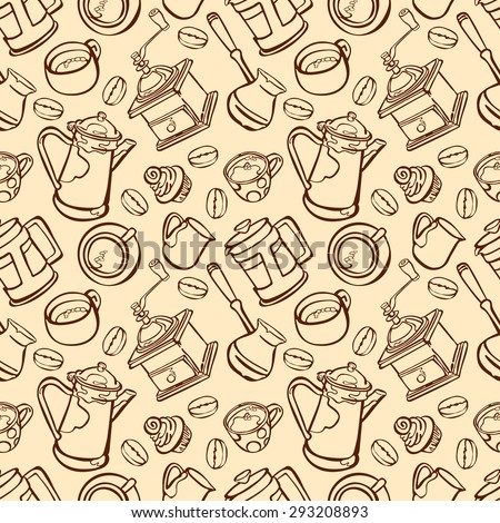 coffee coffee theme set