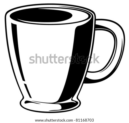 Coffee cup (Coffee mug) - stock vector