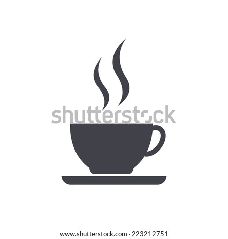 Shutterstock Coffee cup icon