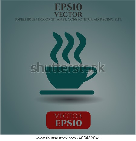 Coffee Cup icon or symbol