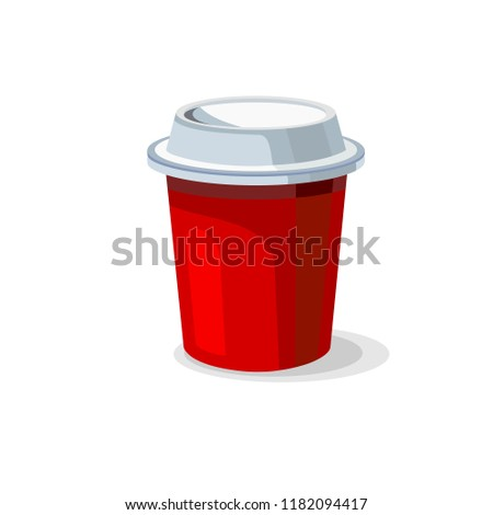 coffee cup icons vector.