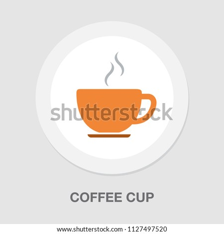 coffee cup or mug icon, coffee - hot drink espresso