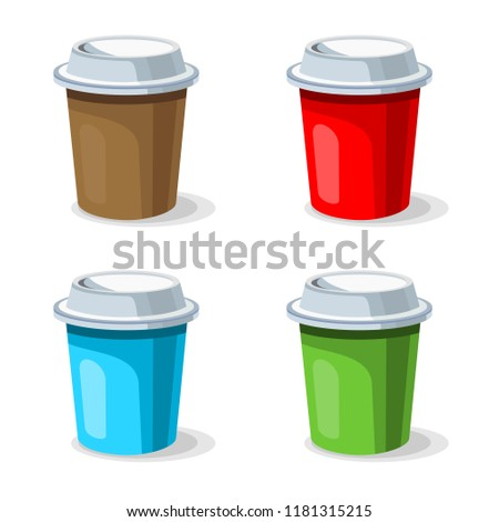 coffee cup vector.
