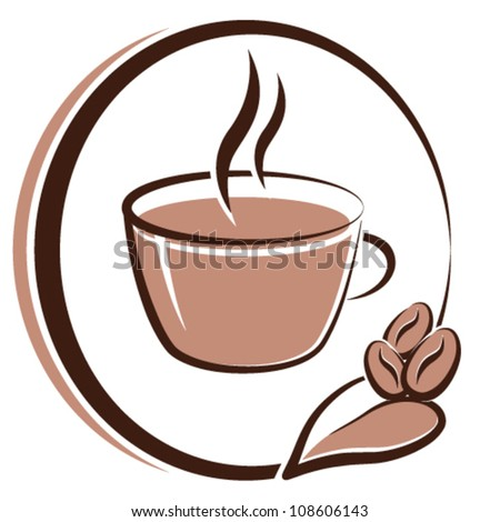 coffee cup - vector illustration