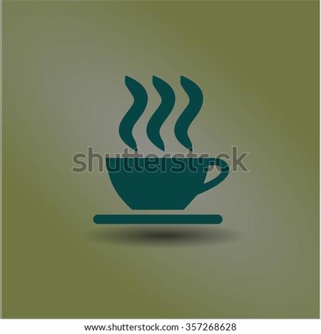 Coffee Cup vector symbol