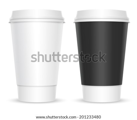 coffee cups two color