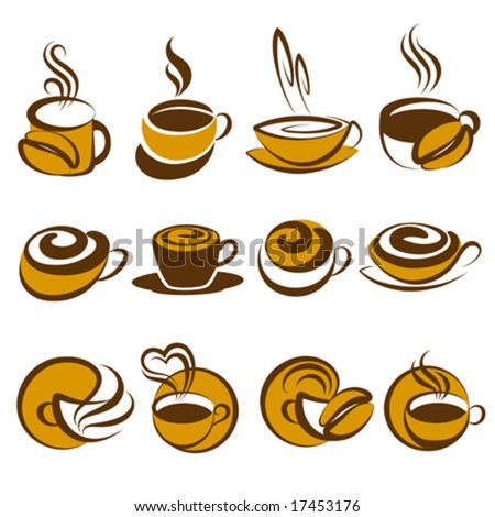 Coffee. Elements for design. Vector illustration.
