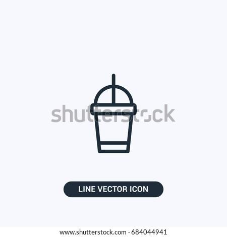 Coffee  Espresso  Starbucks Cup Vector Icon Design
