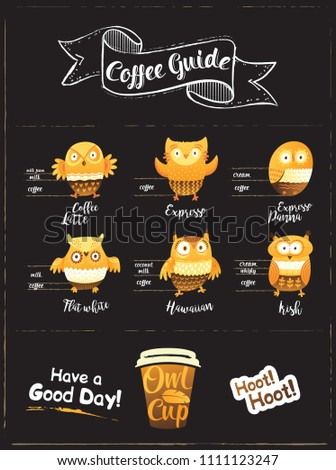coffee guide infographic with