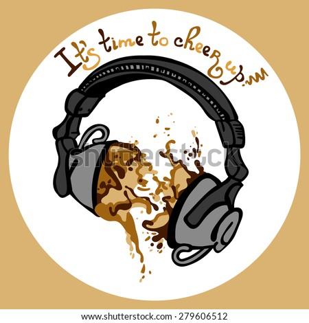 coffee headphones
