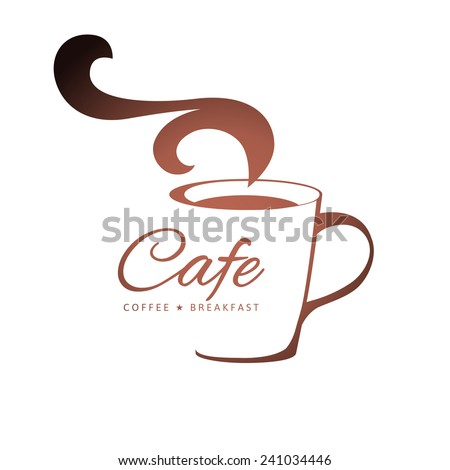 coffee logo template with
