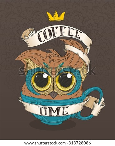 coffee owl