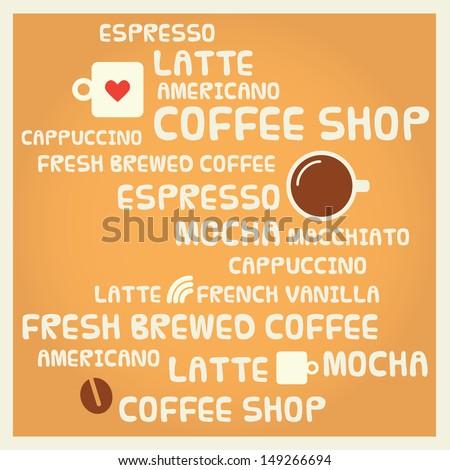 Coffee Shop Coffee Shop Banner Menu Board