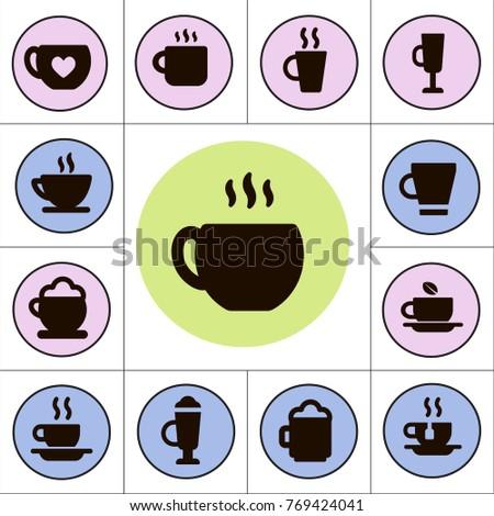 coffee shop cafe concept vector ...