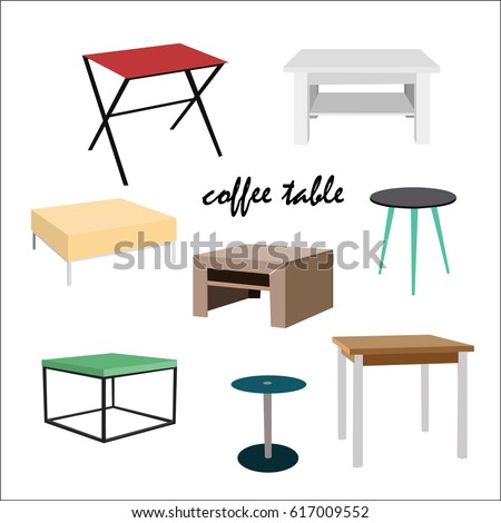 coffee tables in different
