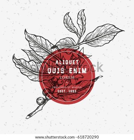 coffee tree illustration