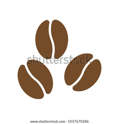 Coffee vector icon.