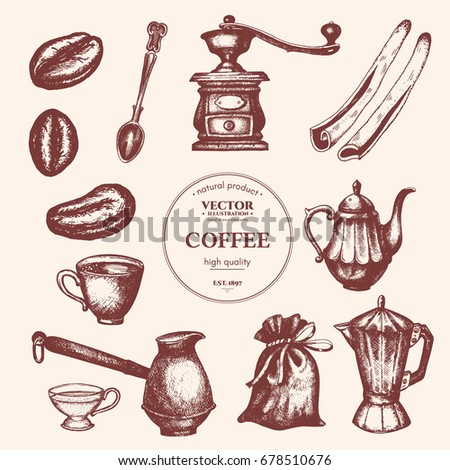 coffee vintage collection....