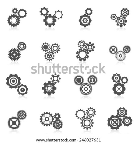 cog wheel gear mechanic and