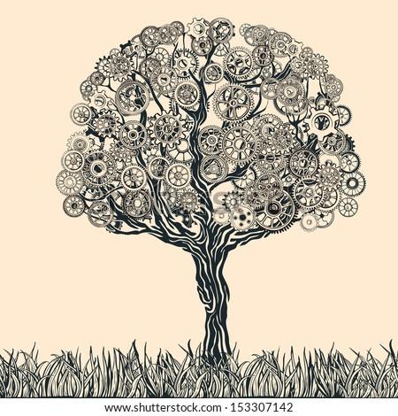 Cogwheel tree.